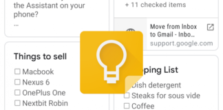 Google Keep hits 500 million installs in Play Store