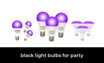 47 Best black light bulbs for party 2021 – After 146 hours of research and testing.